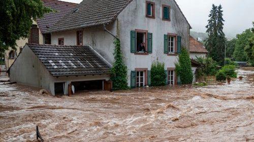Flutkatastrophe: A Report on the German Floods